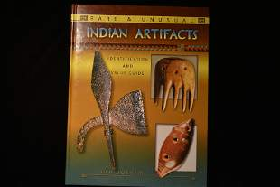 BOOK; (NEW) RARE AND UNUSUAL INDIAN ARTIFACTS, LAR