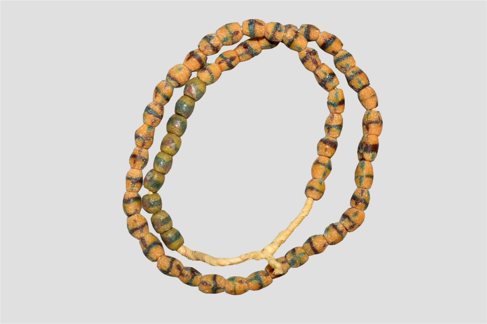 """24"""" Strand of African Sand Cast Beads"""
