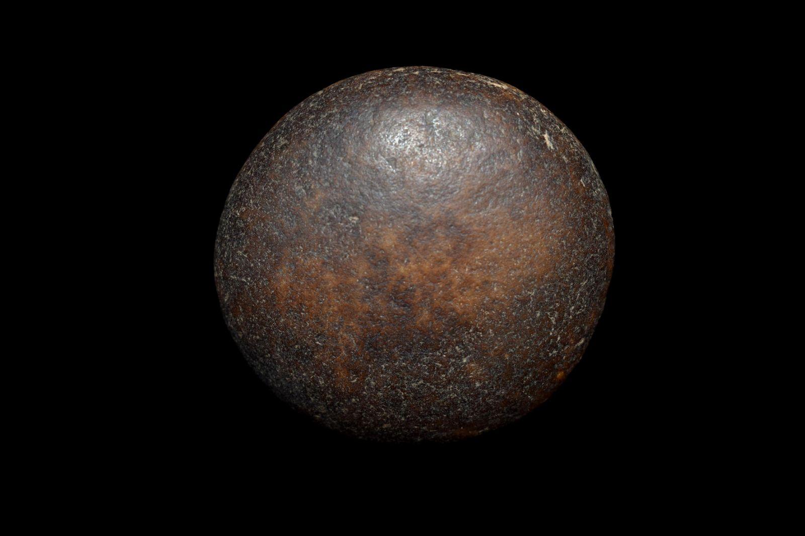 "2"" Quartz Game Stone, Native American Artifacts"