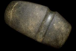 """5 5/16"""" 3/4 Grooved Axe Found in Adams Co. IL, Ex"""