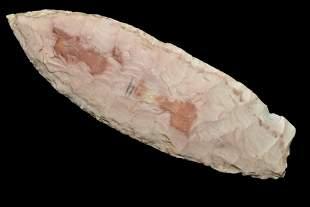 "3 3/4"" Agate Basin, Made of Waraw Tabular, Found in"