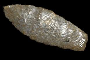 "3 1/8"" Agate Basin, Found in Kansas, Ex Dave Harvey,"