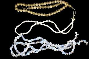 Lot of 3 Strands of Vintage Beads