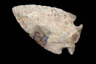 "2"" Corner Notch, Authentic Native American Arrowhead"