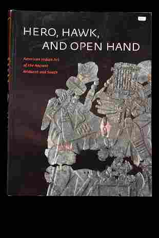 BOOK; HERO HAWK AND OPEN HAND, 287 PAGES FULL OF TONS