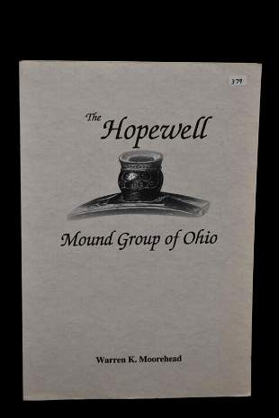 BOOK; THE HOPEWELL MOUND GROUPS OF OHIO, WARREN