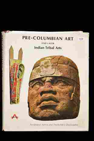 BOOK; PRE-COLUMBIAN ART AND LATER INDIAN TRIBAL ARTS,