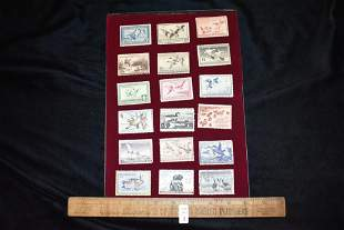 Lot of 18 Vintage Federal Duck Stamps