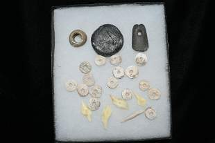 Artifacts found by Clarence Evans-Cahokia Mounds