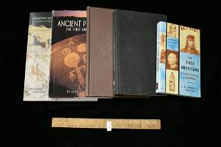 Lot of 5 Books on Prehistoric & ancient Indians