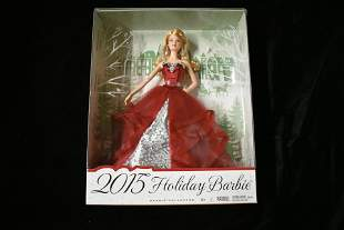 Barbie 2015 Holiday Doll (new in box)