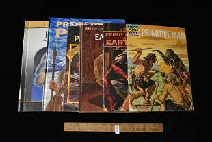 6 Books- Prehistoric Man