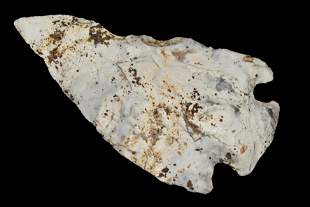 """4 1/4"""" Heavily Patinated Mozarkite Etley found in"""
