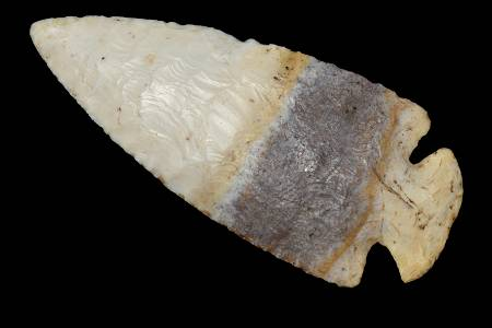 "Beautiful 3 5/16"" Banded Avon Dovetail found in Calhoun"