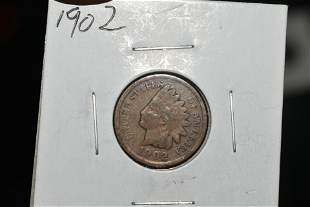 Indian Head Penny, 1902