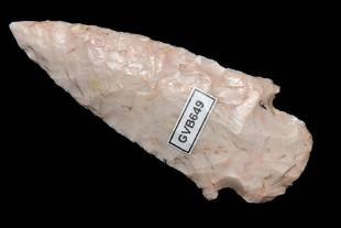 "2 5/8"" Delhi, found in St. Clair Co., Missouri in 1938,"