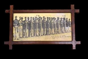Black Civil War Military Photo, located at Fort