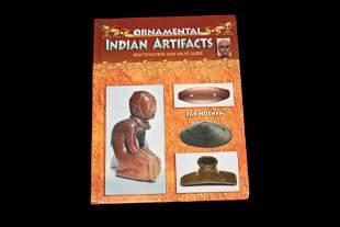 BOOK; ORNAMENTAL INDIAN ARTIFACTS, LAR HOTHEM,
