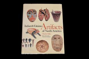 BOOK; INDIAN AND ESKIMO ARTIFACTS OF NORTH AMERICA, 244