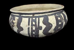"""6 1/4"""" Chancy Culture Bowl-Found in Peru- Schmidt COA"""