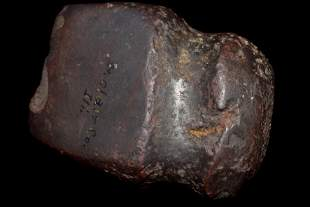 """2 7/8"""" Full Groove Hematite Axe found in St Clair Co IL"""