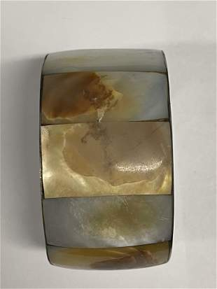 Nice Inlay Shell Cuff / Bracelet