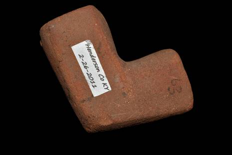"""2"""" Elbow Pipe, Recovered in Henderson Co. Kentucky,"""