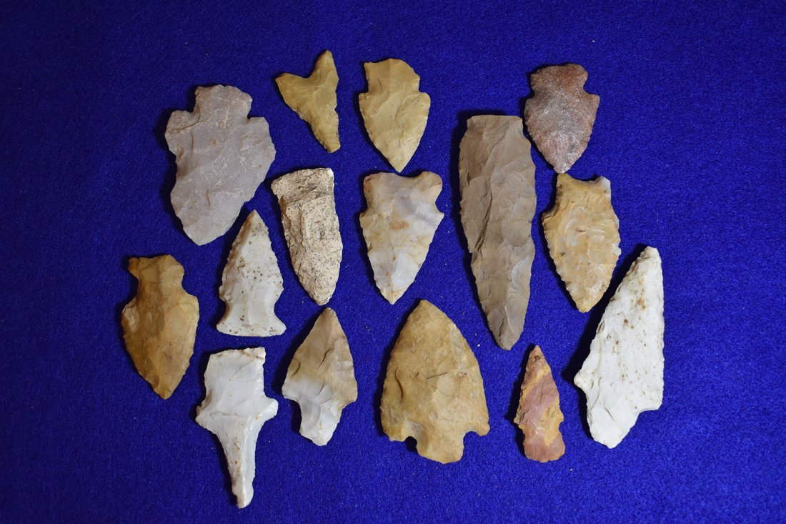 LOT OF 15 MISSOURI POINTS, GOOD RESELLABLE POINTS.