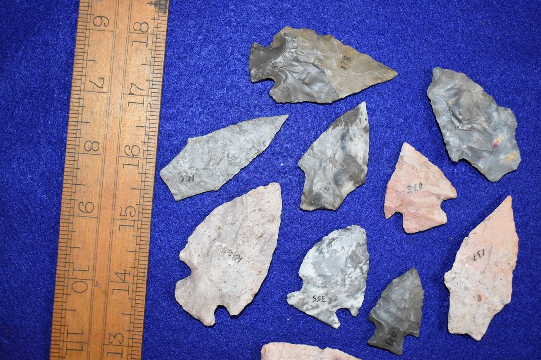 10 NICE COLORFUL WOODLAND POINTS, FORT SMITH ARKANSAS - 2
