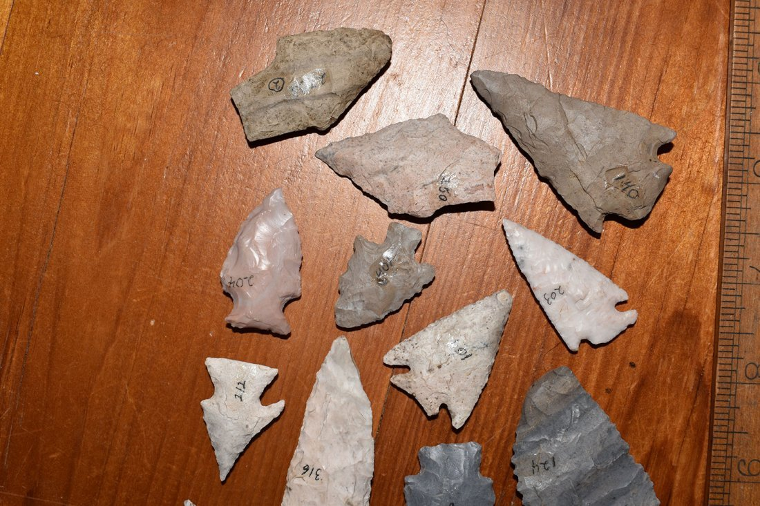 15 NICE COLORFUL WOODLAND POINTS, FORT SMITH ARKANSAS - 3