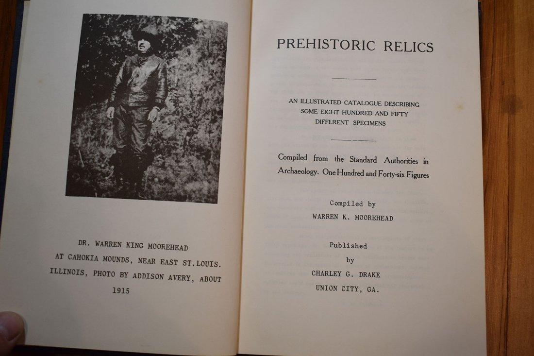 Prehistoric Relics Warren K Moorehead - 2