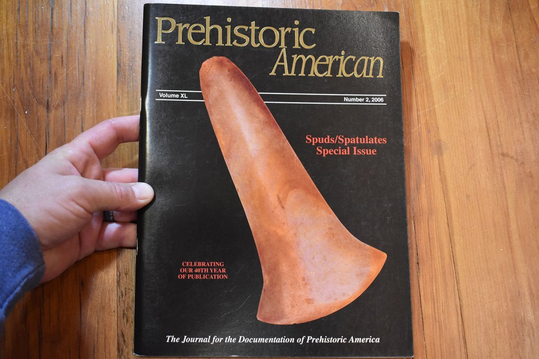 Prehistoric American Spuds Spatulates Special Issue