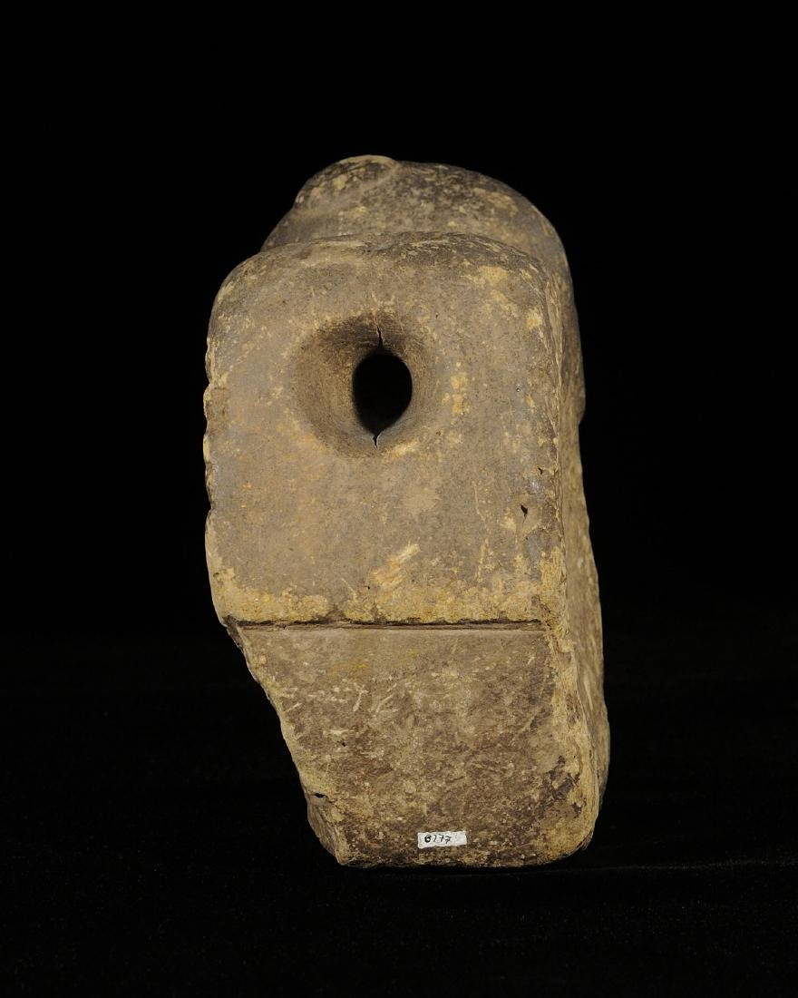 Mississippian Sandstone Alter Pipe, Mason Co IL - 5