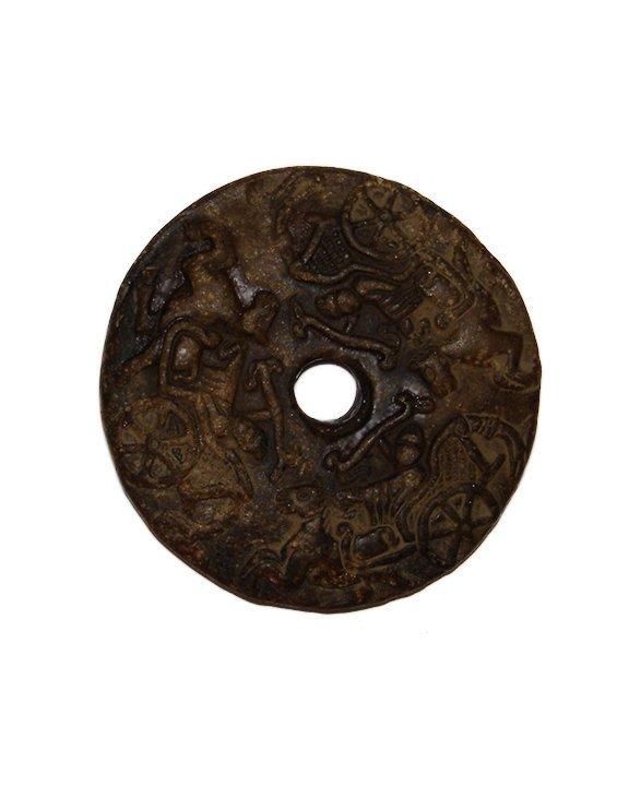 Han Dynasty Jade Chariot Jade Bi Pei