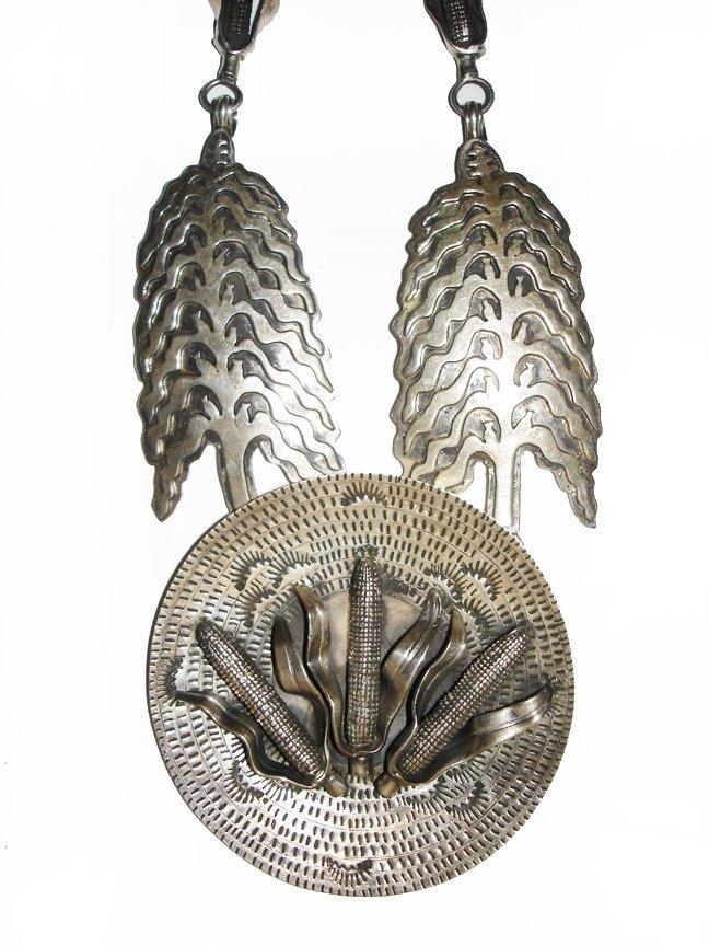 Vintage Corn Offering Necklace Alvin Vandever