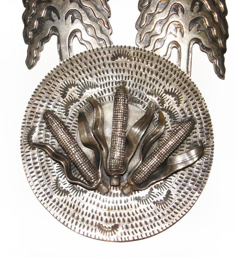 Vintage Corn Offering Necklace Alvin Vandever - 2