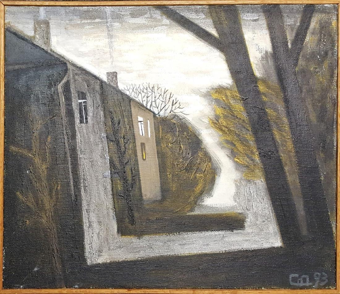 V. Smirnov oil on canvas signed original painting