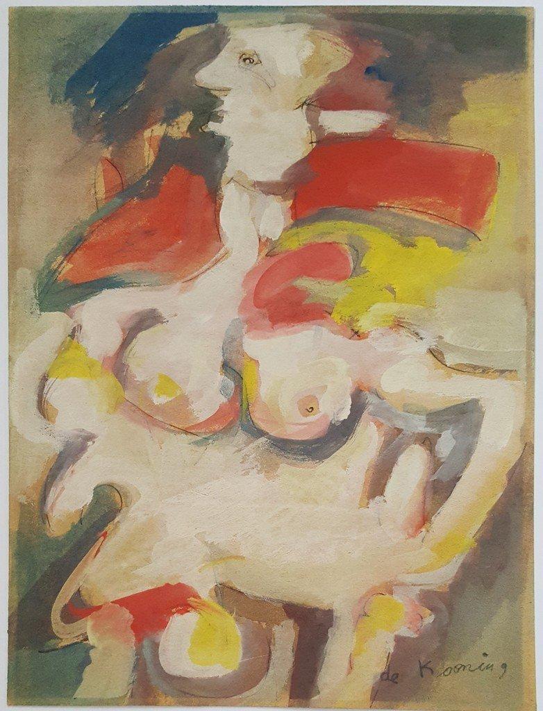 Willem DE KOONING (1904-1997). Netherlands