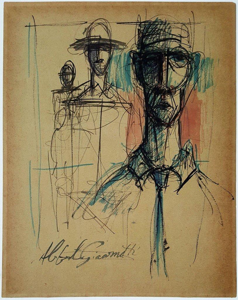 Alberto GIACOMETTI (1901-1966). Switzerland.