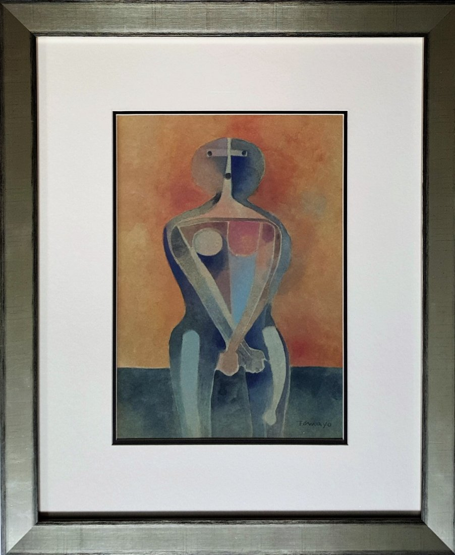 Rufino TAMAYO gouache on paper signed painting