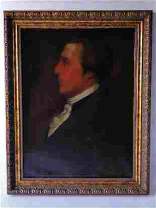 19TH C LEGACY PORTRAIT PAINTING WILLIAM BAILEY