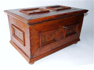 RARE 17TH C WILLIAM AND MARY TABLE CHEST
