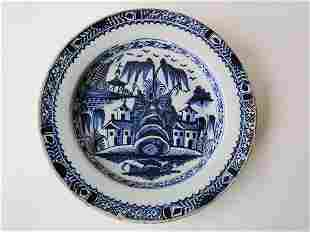 EARLY DELFT PLATE