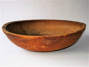 VERY LARGE PRIMITIVE BEE HIVE BOWL