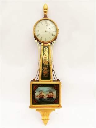 C. 1825 FEDERAL BANJO CLOCK