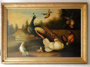 19TH C COPY OF A RARE 17THC PAINTING