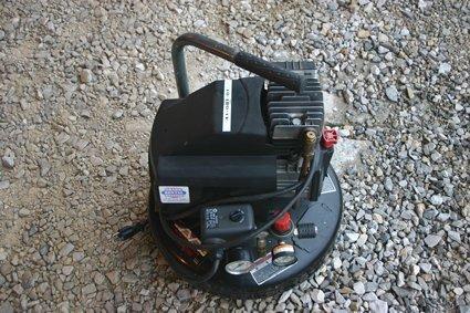 2: MI-TM Corporation Pancake Air Compressor NR