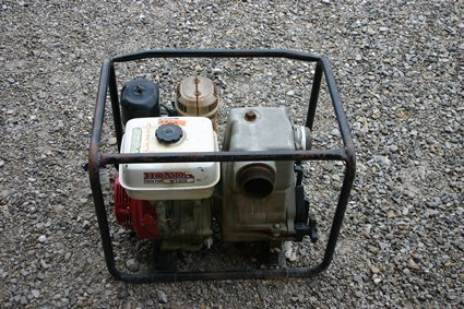 """12: Portable 3"""" Honda Trash Pump 8 HP  #WT30X - NR"""
