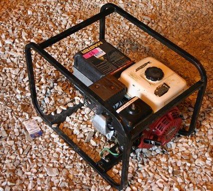 15: Master Portable Generator Honda GX160 5.5 HP - NR