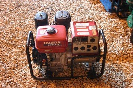 16: Honda Portable Generator Model EG5000 Watt - NR